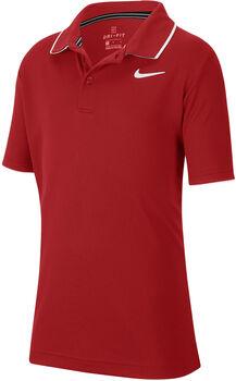 NikeCourt Dri-FIT kids t-shirt Jongens Rood