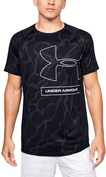 Under Armour MK1 Tonal shirt Heren Zwart