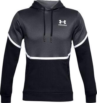 Under Armour Rival Fleece AMP hoodie Heren Zwart
