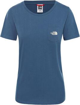 The North Face Extent P8 Logo shirt Dames Blauw