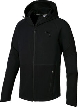 Puma Evostripe hoodie Heren Zwart