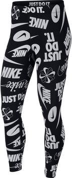 Nike Sportswear Leg-a-See Logo tight Dames Zwart