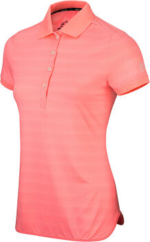 Falcon Demi polo Dames Oranje