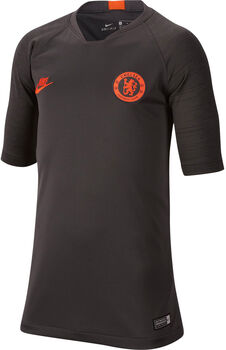 Nike Chelsea FC Breathe Strike shirt Jongens Zwart