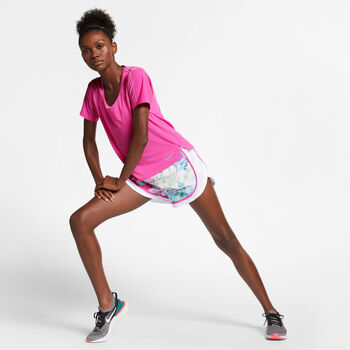 Nike Miler shirt Dames Rood