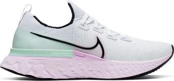 Nike React Pro Flyknit hardloopschoenen Dames Wit