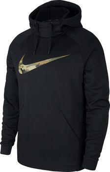 Nike Therma Camo hoodie Heren Zwart