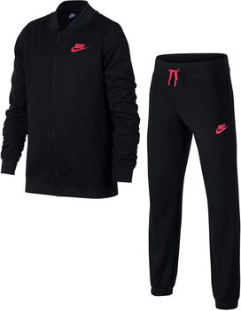 Nike Sportswaar jr trainingspak Meisjes Zwart