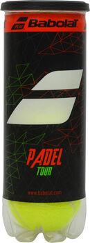 Babolat Padel Tour X3 padelballen Geel