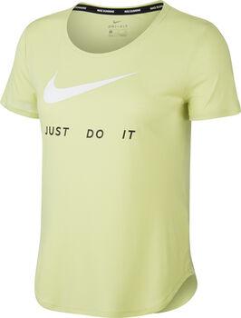 Nike Running shirt Dames Geel