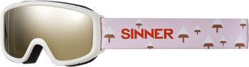 Sinner Duck Mountain skibril Wit