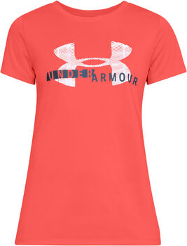 Under Armour Tech SSC Graphic shirt Dames Roze