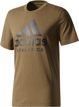 Adidas Sport ID shirt Heren Bruin