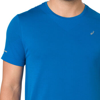 timeless design 8c372 a18d0 Asics Seamless shirt Heren Blauw