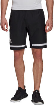 adidas Tennis Club  Short Heren Zwart