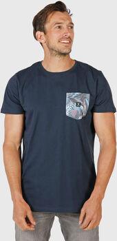 Brunotti Axle-Pkt-AO t-shirt Heren Blauw