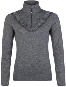Protest Roscal 1/4 Zip sweatshirt Dames Zwart