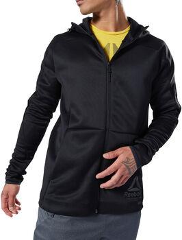 Reebok One Series Training hoodie Heren Zwart