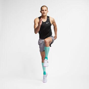 Nike Dri-FIT Miler Tech hardlooptanktop Heren Zwart