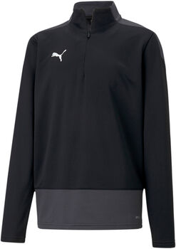 Puma team GOAL 23 Training 1/4-Zip kids top Jongens Zwart