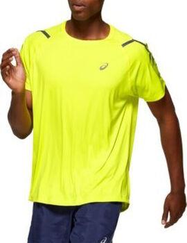 Asics Icon shirt Heren Geel