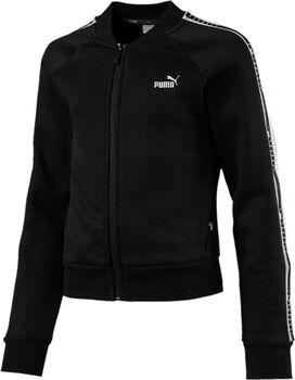 Puma Tape FZ sweater Meisjes Zwart