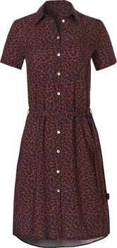 Wow t-shirt jurk Dames Zwart