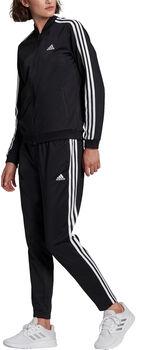 adidas Essentials 3-Stripes Trainingspak Dames Zwart