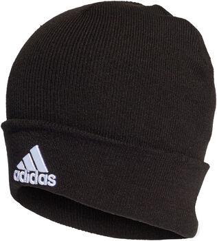 adidas Logo beanie Heren Zwart