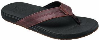 Reef Cushion Bounce Phantom Leather slippers Heren Zwart