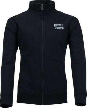 RUSSELL Zip Through vest Heren Zwart