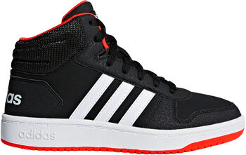 ADIDAS Hoops 2.0 Mid sneakers Jongens Zwart