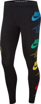 Nike Sportswear Leg-a-See Flip tight Dames Zwart