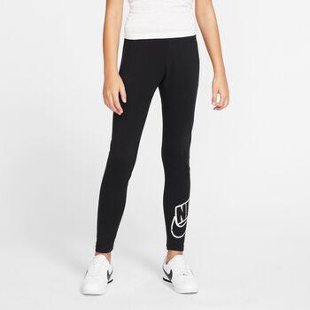Nike Sportswear Favorites Shine kids tight Meisjes Zwart