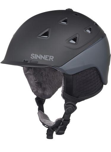Sinner - Stoneham helm - Heren - Helmen - Zwart - 62