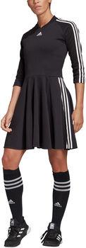 adidas 3-Stripes jurk Dames Zwart