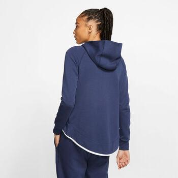 Nike Frankrijk Sportswear Tech Fleece jack Dames Blauw