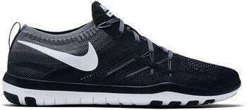 Nike Free Focus Flyknit fitness schoenen Dames Zwart