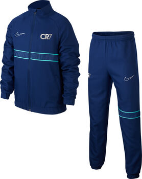 Nike CR7 Dry kids trainingspak Blauw