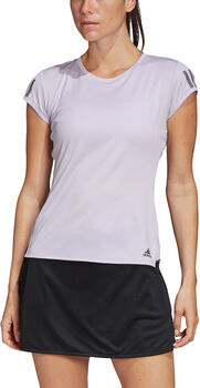 ADIDAS 3-Stripes Club shirt Dames Paars