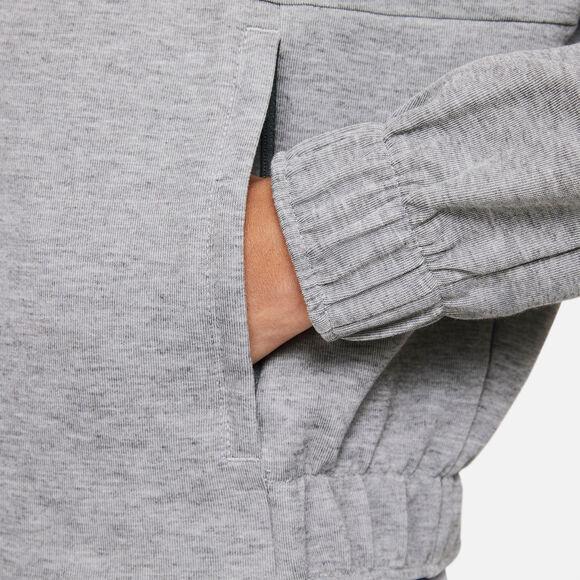 Chelsea FC Cropped 1/2-Zip hoodie