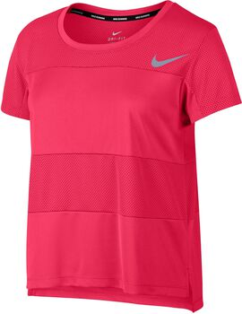 Nike Dry running top Dames Rood