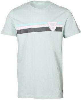 Brunotti Tim-Print t-shirt Heren Groen