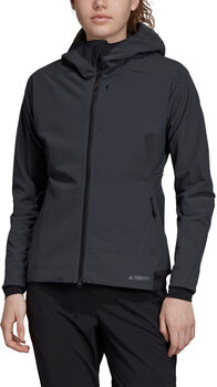 ADIDAS Terrex Climaheat Ultimate Hooded Fleece Jack Dames Grijs