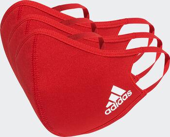 adidas Mondkapje 3-Pack M/L Rood