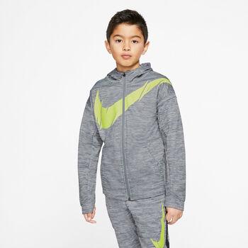 Nike Therma kids vest Jongens Grijs