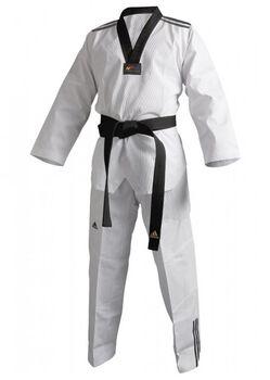 ADIDAS BOXING Dobok Adi-club 3 karatepak Heren Wit