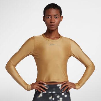 Nike Speed longsleeve Dames Geel