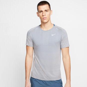 Nike TechKnit Ultra Hardloopshirt korte mouw Heren Bruin