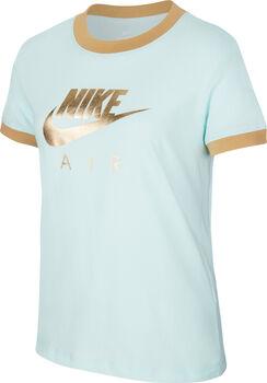Nike Sportswear Air Logo Ringer shirt Meisjes Groen